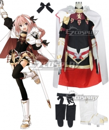 Fate Apocrypha Rider of Black Astolfo Cosplay Costume - B Edition
