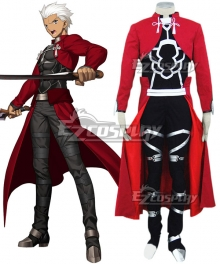Fate Stay Night Archer  Emiya Shirou Cosplay Costume - New Edition