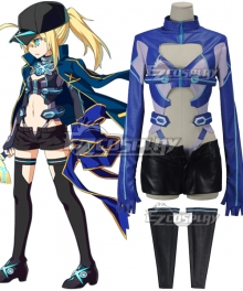 Fate Grand Order Mysterious Heroine X Assassin Cosplay Costume - Only Top, Short and Leg cover