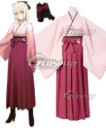 Fate Grand Order Sakura Saber Okita Souji Cosplay Costume