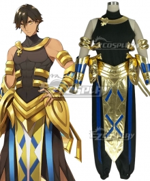 Fate Prototype: Fragments Rider Ozymandias Ramesses II Cosplay Costume