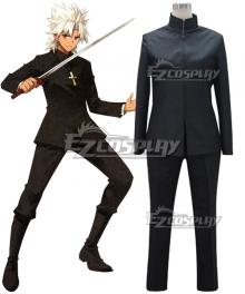 Fate Grand Order Fate Apocrypha Amakusa Shirou Tokisada Shirou Kotomine Cosplay Costume -Only Coat and Trousers