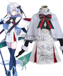 Fate Grand Order Fate Apocrypha Joan of Jeanne d'Arc Alter Santa Lily Christmas Day Cosplay Costume