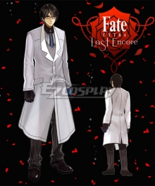 Fate EXTRA Last Encore Twice H. Pieceman Cosplay Costume