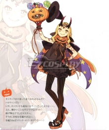 Fate Grand Order Berserker Ibaraki Douji Halloween Cosplay Costume
