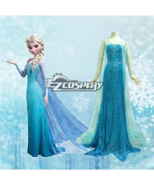 Frozen Elsa Disney Dress Cosplay Costume - Deluxe Ver.