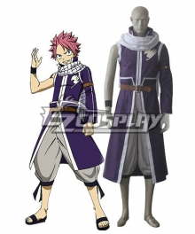 Fairy Tail Team Fairy Tail A Natsu Dragneel Cosplay Costumes