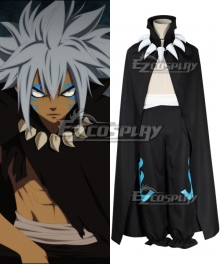 Fairy Tail Human Acnologia Cosplay Costume