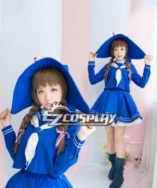 Wadanohara Blue Sailor Suit Cosplay Costume