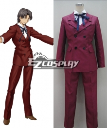 Fate Zero Tokiomi Tohsaka New Version Cosplaty Costume