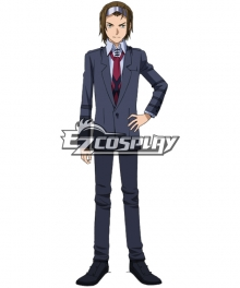 Meijin Kawaguchi from Gundam Build Fighters Try Cosplay Costume