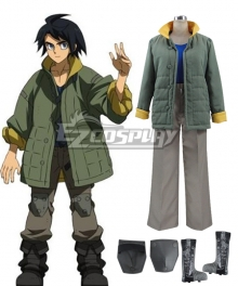 Mobile Suit Gundam: Iron-Blooded Orphans Mikazuki Augus Mika Mikadzuki Ogasu Cosplay Costume