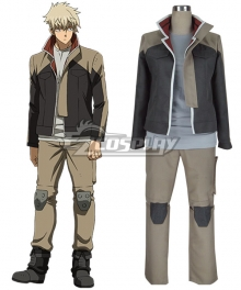 Mobile Suit Gundam: Iron Blooded Orphans Hush Middy Cosplay Costume