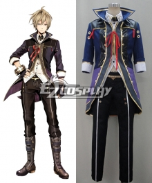 God Eater 2 Julius Visconti Cosplay Costume-Second Ver.