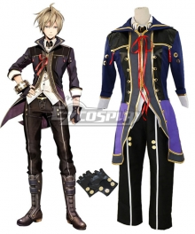 God Eater 2 Julius Visconti Cosplay Costume - A Edition