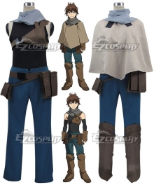 Grimgar of Fantasy and Ash Haruhiro Cosplay Costume