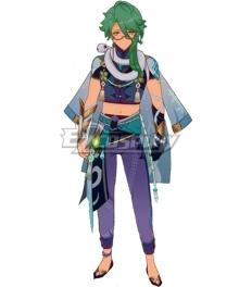 Genshin Impact Baishu Cosplay Costume