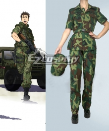 Gate Jieitai Kanochi nite Kaku Tatakaeri Gate Thus the JSDF Fought There Youji Itami Cosplay Costume