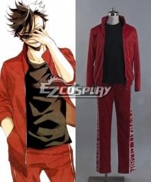 Haikyu!! Cosplay Volleyball Juvenile Red Sportswear Uniform Costume