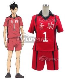 Haikyu!! Haikyuu!! Second Season Nekoma High Nekoma Koukou Kuroo Tetsurou Cosplay Costume