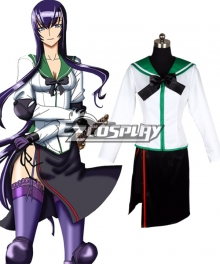 High School of the Dead Busujima Saeko Fight Cosplay Costume