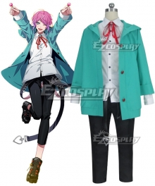 Hypnosis Mic Division Rap Battle Ramuda Amemura Easy R Cosplay Costume - B Edition