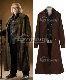 Harry Potter Alastor Moody Brown Cosplay Costume