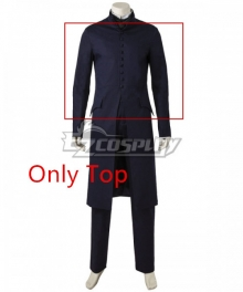 Harry Potter Severus Snape Cosplay Costume - Only Top