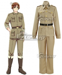 Axis Powers Hetalia Italy Rovino Vargas Cosplay Costume