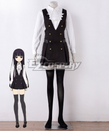 Inu x Boku SS Ririchiyo Shirakiin Uniform Cosplay Costume - B Edition