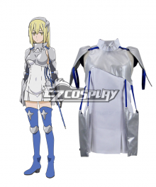 DanMachi Familia Myth Is It Wrong to Try to Pick Up Girls in a Dungeon Danjon ni Deai o Motomeru no wa Machigatteiru Daro ka Aiz Wallenstein Aizu Varenshutain Cosplay Costume