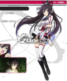 Infinite Stratos 2 Shinonono Houki Cosplay Costume