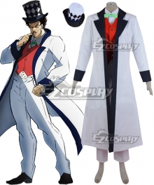 JoJo's Bizarre Adventure William.A.Zeppeli Cosplay Costume