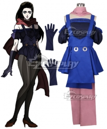 JoJo's Bizarre Adventure Lisa Lisa Cosplay Costume - New Edition
