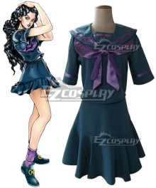 JoJo's Bizarre Adventure Yukako Yamagishi Cosplay Costume