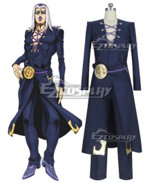 JoJo's Bizarre Adventure: Vento Aureo Golden Wind Anime Edition Leone Abbacchio Cosplay Costume