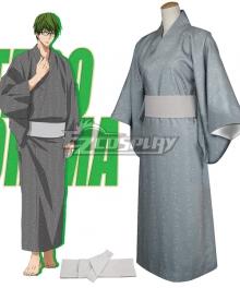 Kuroko's Basketball Midorima Shintaro Kimono Bath Robe Cosplay Costume
