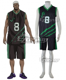 Kuroko's Basketball Last Game Jason Silver Cosplay Costume