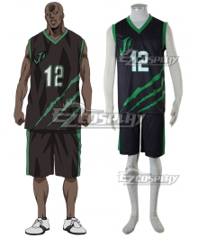 Kuroko's Basketball Last Game Zach Cosplay Costume
