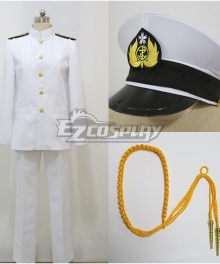 Kantai Collection Teitoku Cosplay Costume