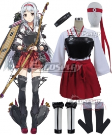 Kantai Collection KanColle Aircraft Carrier Shoukaku Cosplay Costume