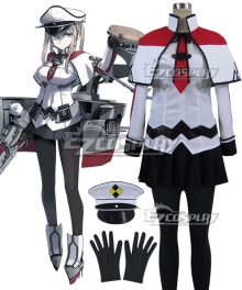 Kantai Collection KanColle Aircraft Carrier Graf Zeppelin Cosplay Costume
