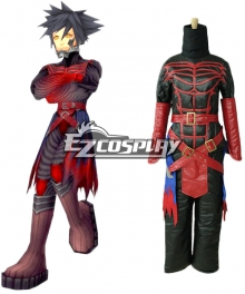 Kingdom Hearts: Birth By Sleep Vanitas Cosplay Costume