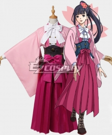 Kabaneri of the Iron Fortress Ayame Cosplay Costume - A Edition