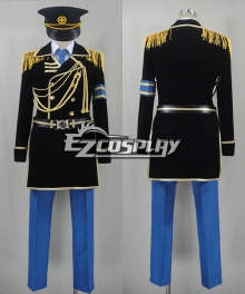 K Project Fushimi Saruhiko Military Uniform Cosplay Costume