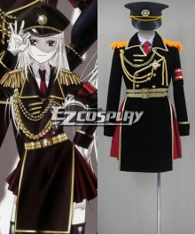 K Project Kushina Anna Military Uniform Cosplay Costume