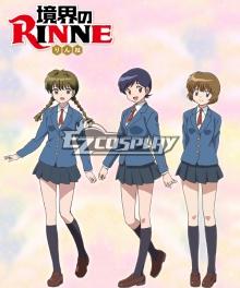 Kyoukai no Rinne Sakura Mamiya Miho Rika Cosplay Costume