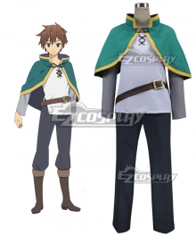 Kono Subarashii Sekai ni Shukufuku o Kazuma Sato Cosplay Costume - A Edition