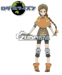 Log Horizon Isuzu Cosplay Costume
