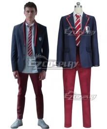Elite TV Series Netflix School Uniform Cosplay Costume
